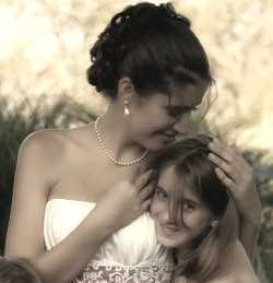 At my wedding in 2010